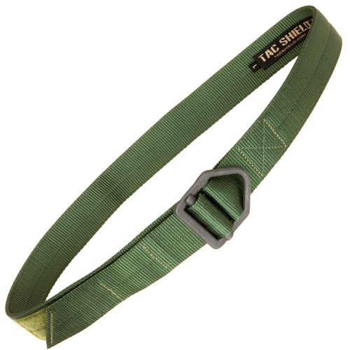 tac shield tactical rigger belt large od green sporting