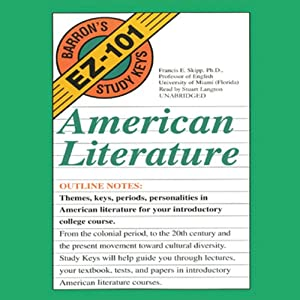 Barron's EZ-101 Study Keys: English Literature | [Benjamin W. Griffith]