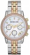 Michael Kors Womens MK5650 Ritz Tri-tone Watch