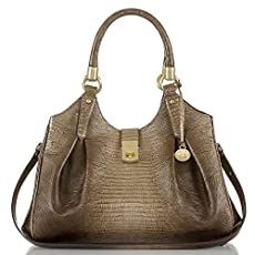 Elisa Hobo Bag<br>Sable Fashion Lizard