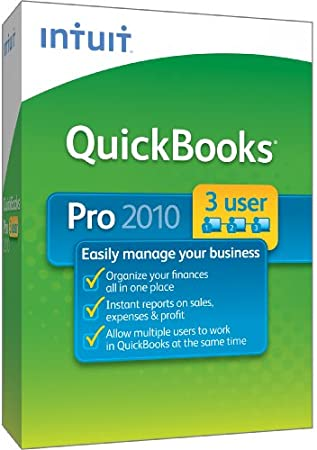 QuickBooks Pro 2010 3-User [OLD VERSION]