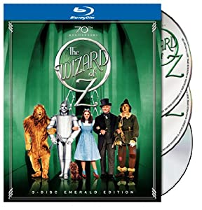 The Wizard of Oz (Three-Disc Emerald Edition) [Blu-ray] (Sous-titres français) [Import]