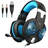 KOTION EACH G1000 Professional 3.5mm PC Gaming Headset Bass Stereo Headphones Earphones Headband With Mic Microphone...
