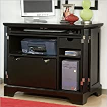 Big Sale Best Cheap Deals Home Style 5531-19 Bedford Compact Office Cabinet, Black