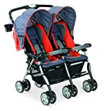 Combi Twin Sport DX Stroller, Sunset Scribble