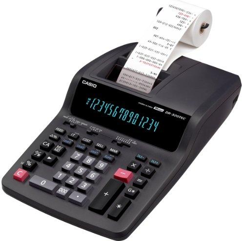 Casio DR320TEC Heavy Duty Printing Calculator