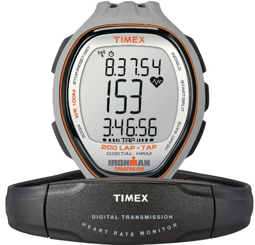 Image of TIMEX Fullsize Ironman Target Trainer Sports Watch with Tap Technology (B0088N8WT2)