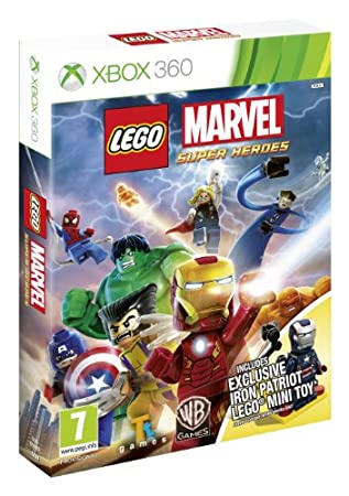 LEGO Marvel Super Heroes - Iron Patriot Minifigure Limited Edition (Xbox 360)