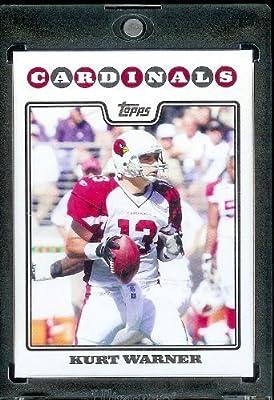 2008 Topps # 37 Kurt Warner - Arizona Cardinals - NFL Trading Cards