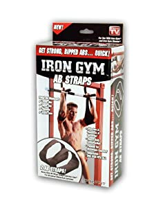 Iron Gym Ab Straps by Ontel Products