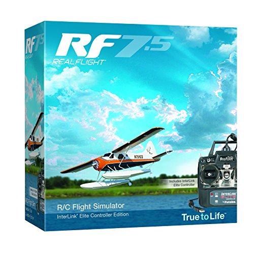 Great Planes RealFlight 7.5 RC Flight Simulator with Interlink Elite Controller and RealPhysics