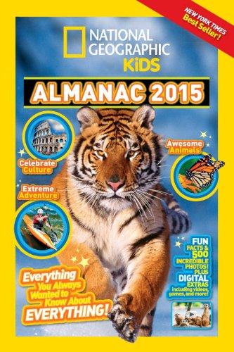 NGK. Almanac 2015 (National Geographic Kids Almanac)