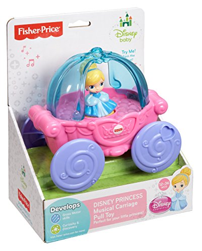 Disney Baby Cinderella Musical Carriage Pull Toy