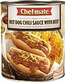 Chef-mate Hot Dog Chili, 108-Ounce