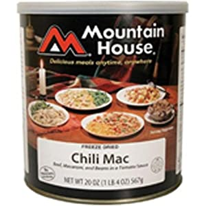 Mountain House Chili Mac w  Beef #10 Can Freeze Dried Food - 6 Cans Per Case NEW! by Mountain House