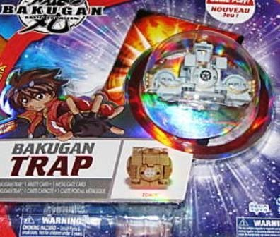 Bakugan New Vestroia Gray Trap Zoack
