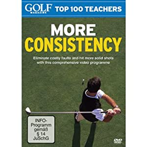 Golf Magazine Top 100 Teachers - More Consistency [Import anglais]
