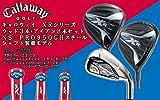 Callaway(キャロウェイ) XR 16 シリーズ ウッド3本+アイアン(Steelhead XR) 8本セット アイアンNS-PRO950GHスチールシャフト装着モデル(W#1・W#3・W#5+I#5~PW+AW・SW) フレックスS (ドライバーロフト角(9,5度))