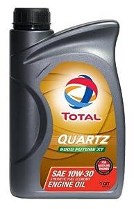 Total (185644-1QT) Quartz 9000 Future XT API/ILSAC 10W-30 Engine Oil - 1 Quart from Total