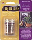 Liquid Leaf One Step Leafing Paint 3/4 Ounce-Classic Gold