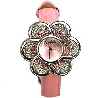 [フォリフォリ]FOLLI FOLLIE ウオッチ 腕時計 フラワーモチーフ ピンク WF5T009SPP[並行輸入品]