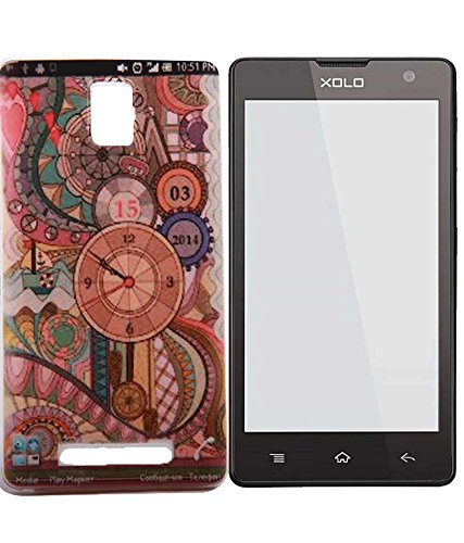 Exclusive Premium Soft Back Case Cover Back Cover For Xolo Era - Awesome Clock Design