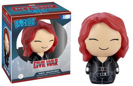 Captain America: Civil War Black Widow Dorbz Vinyl Figure