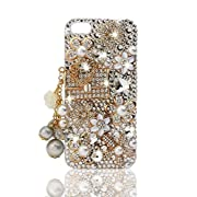 NOVA Case Glamour Bling Crystal iPhone Case iPhone 5 /5S Floral Coco Bag