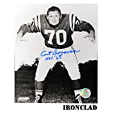 Art Donovan Signed 16x20 Photo w/ HOF 68 Insc.