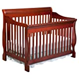 Delta Canton 4-in-1 Convertible Crib, Espresso Cherry