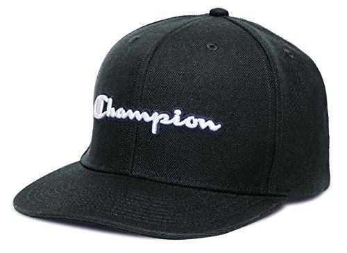 Champion Men's Life Baseball Snapback Hat with Script, Black, ONE SIZE (Champion C Caps compare prices)