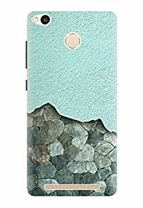 Noise Designer Printed Case / Cover for Xiaomi Redmi 3S Prime / Patterns & Ethnic / Sea Green Ore Design