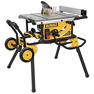 DEWALT DWE7491RS Jobsite Table Saw, 15 Amp, 10-Inch
