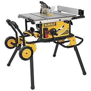 Dewalt 10 inch jobsite table saw with rolling stand for 10 inch table saw with stand