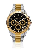 SO & CO New York Reloj de cuarzo  Plateado / Dorado 42 mm