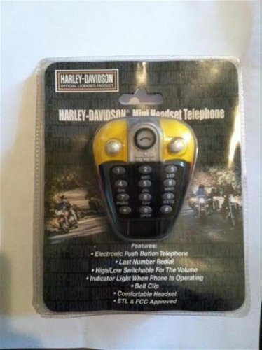 Harley Davidson Mini Headset Telephone