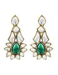 Karatcart Aalia Kundan Earrings