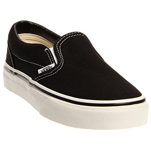 Vans Classic Slip-On Skate Shoe - Little Boys' Black, 11.0