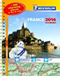 France 2014 A3 Spiral Atlas (Michelin...