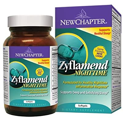 New Chapter Zyflamend Nighttime, 120 Softgels