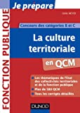 La culture territoriale en QCM - Concours des catégories B et C