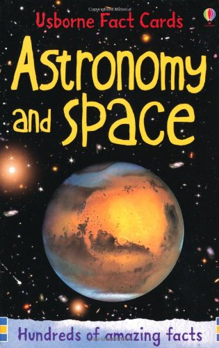 Astronomy and Space (Usborne Fact Cards)