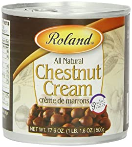 Roland Chestnut Cream, 17.6-Ounce Cans (Pack of 3)