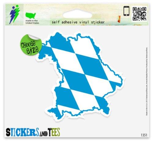 bavaria-map-flag-vinyl-car-bumper-window-sticker-2-x-2