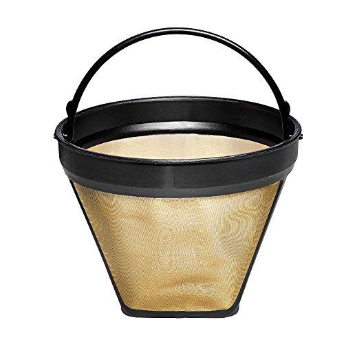 Calphalon Coffee Maker Replacement Parts : byHomeSource Gold-Tone Coffee Filter Basket, 1 Basket Garden Kitchen Dining Kitchen Appliance ...