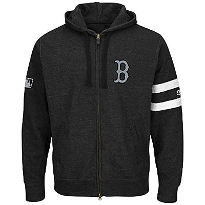 Majestic MLB 'Clubhouse' Long Sleeve Hooded Fleece