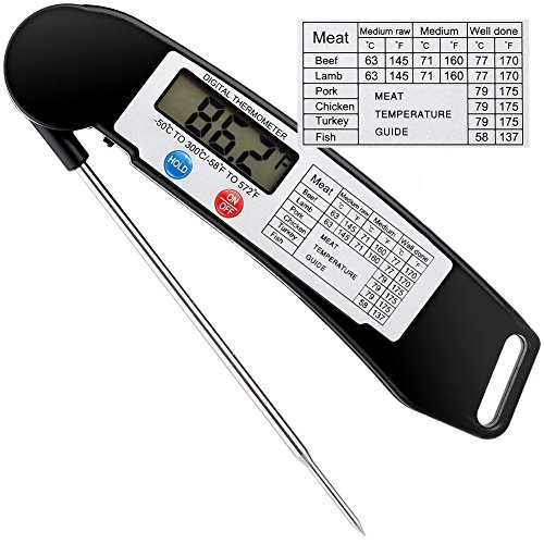 newest-food-thermometer-cooleadr-ultra-fast-cooking-thermometerdigital-instant-read-thermometer-with