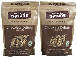 Back to Nature Granola - Chocolate Delight - 11 oz - 2 pk