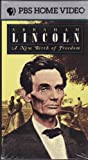 Abraham Lincoln: New Birth of Freedom [VHS]