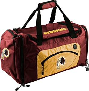 NFL Washington Redskins Roadblock Duffle Bag - Burgundy Gold by Concept 1